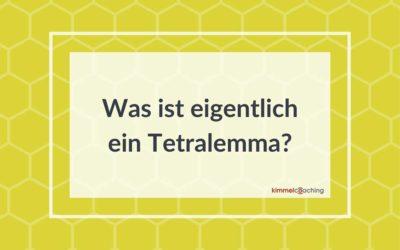 Was ist eigentlich ein Tetralemma?