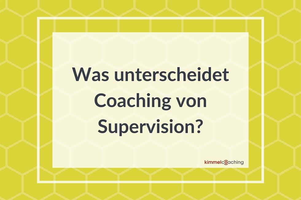Unterschied-Coaching-Supervision